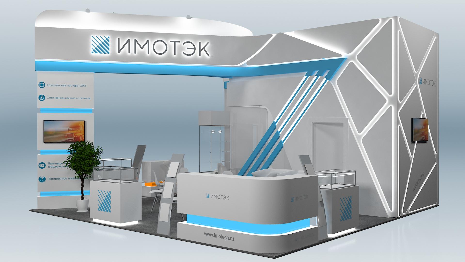 Изготовление недорогих выставочных павильонов в Москве