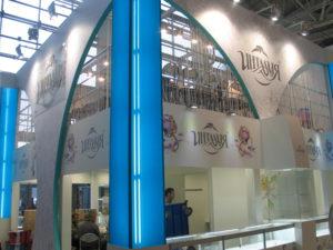 Оформление выставочных стендов ювелирных домов