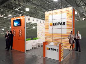 Монтаж и установка выставочных стендов в Москве